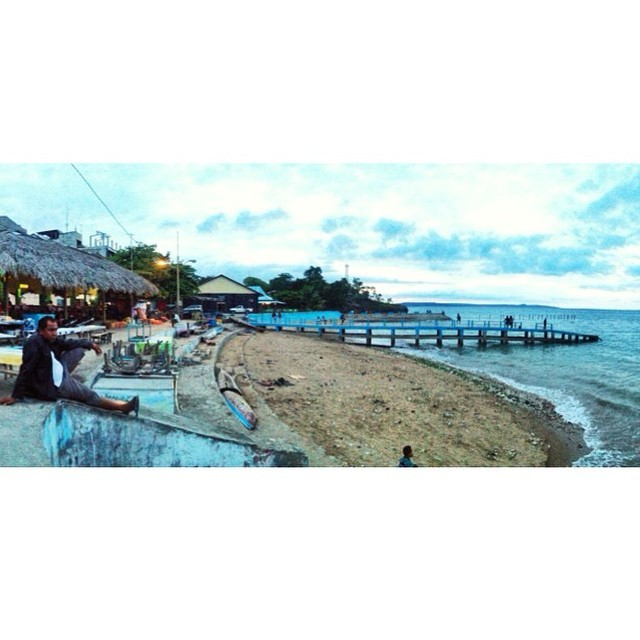 Catatan Backpacker Spot 4 1 Pantai Tedis Gaul Koepang Kupang