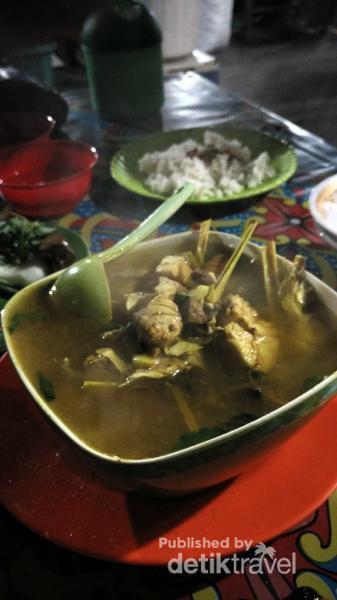Aneka Kuliner Lezat Pasar Malam Kampung Solor Kupang Kuah Asam