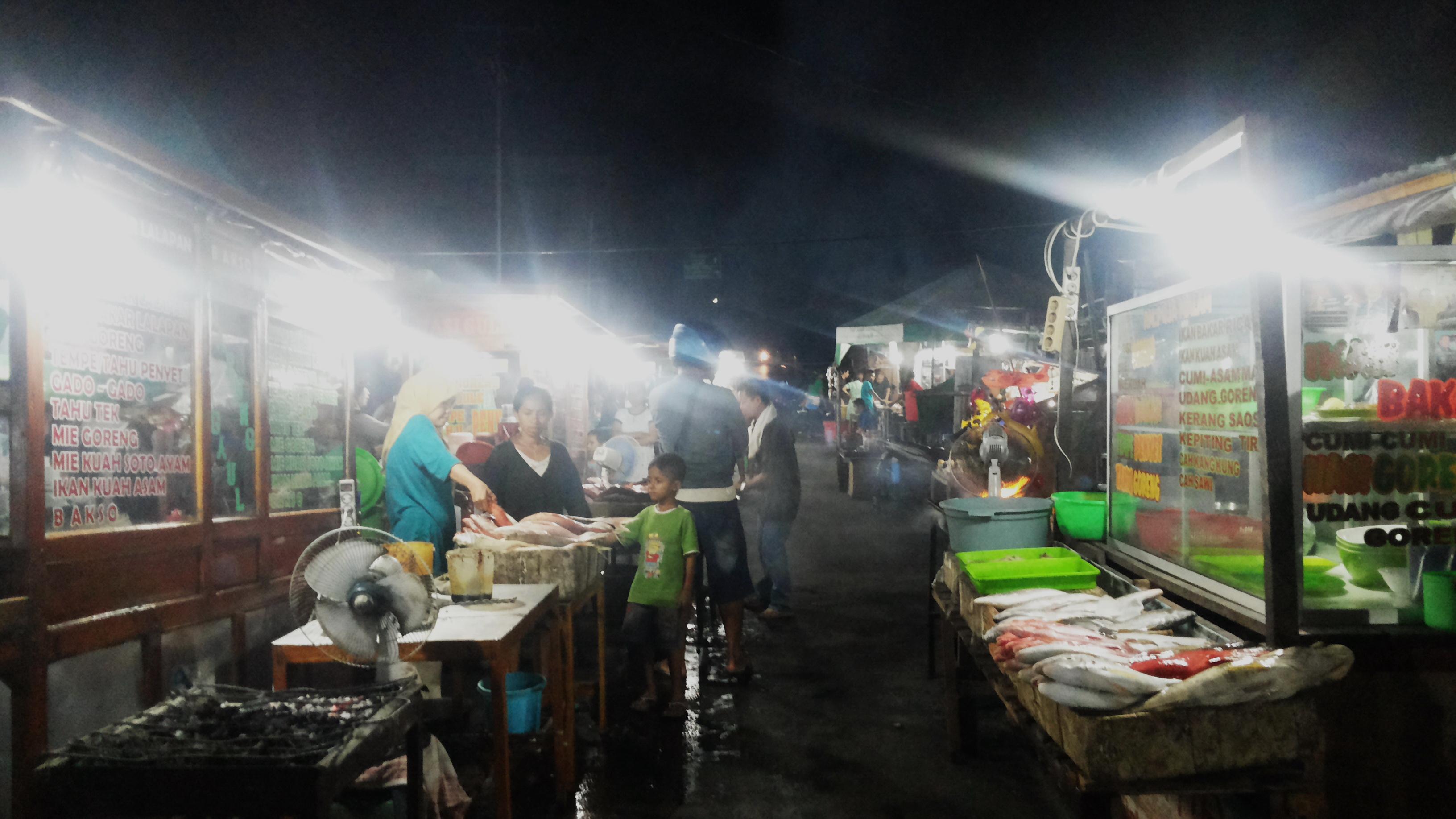 Kuliner Pasar Malam Kota Kupang Rasa Jawa Kita Kampung Solor
