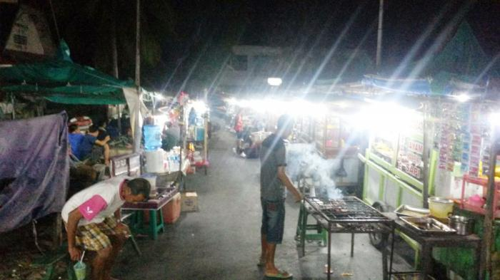 Nikmatnya Ikan Segar Bakar Pasar Malam Kampung Solor Kota Kupang