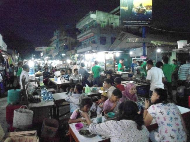 Pesta Pasar Malam Kampung Solor Adadikupang Wisata Kab Kupang