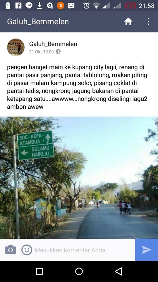 Surabaya 18 November 2016 Kupang Pulau Rote Galuh Saina Van