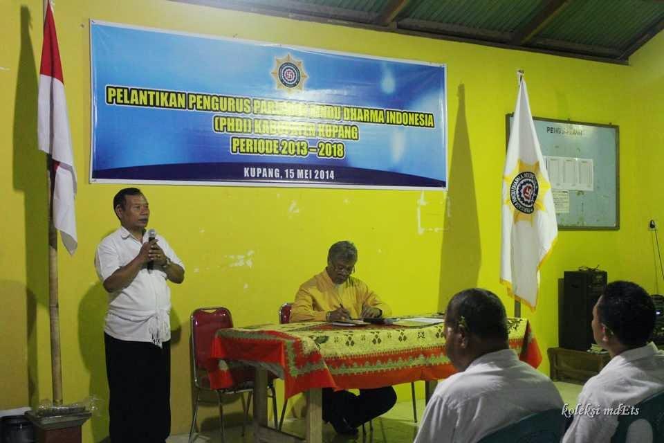 Pengukuhan Phdi Kabupaten Kupang Provinsi Ntt Akhir Kata Selamat Bertugas