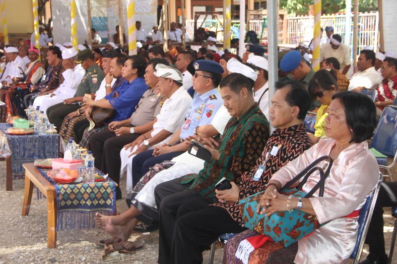 Pura Oebananta Diresmikan Kanwil Kementerian Agama Provinsi Nusa Foto Kab