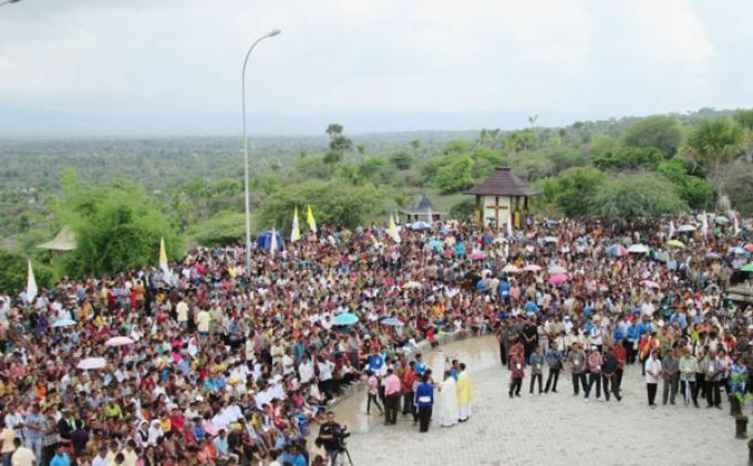 Dispar Ntt Dukung Taman Doa Oebelo Jadi Wisata Nasional Pos