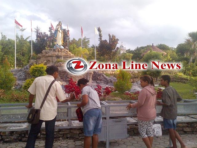 Keindahan Taman Doa Yesus Maria Oebelo Sejukan Hati Zona Line