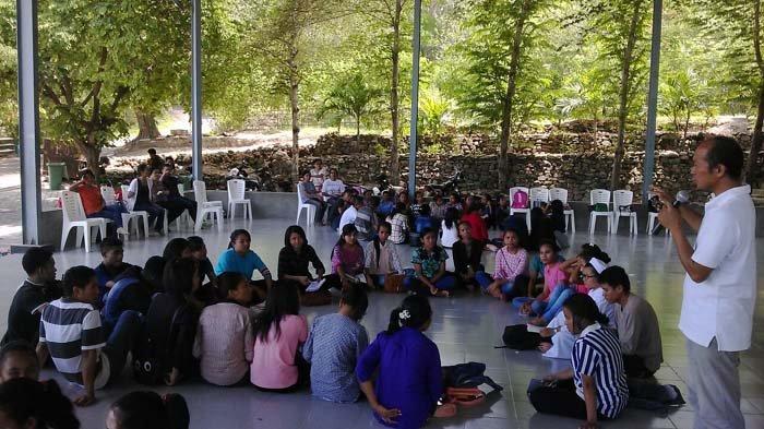 Kmk Poltekkes Rekoleksi Taman Ziarah Oebelo Kupang Pos Doa Kab