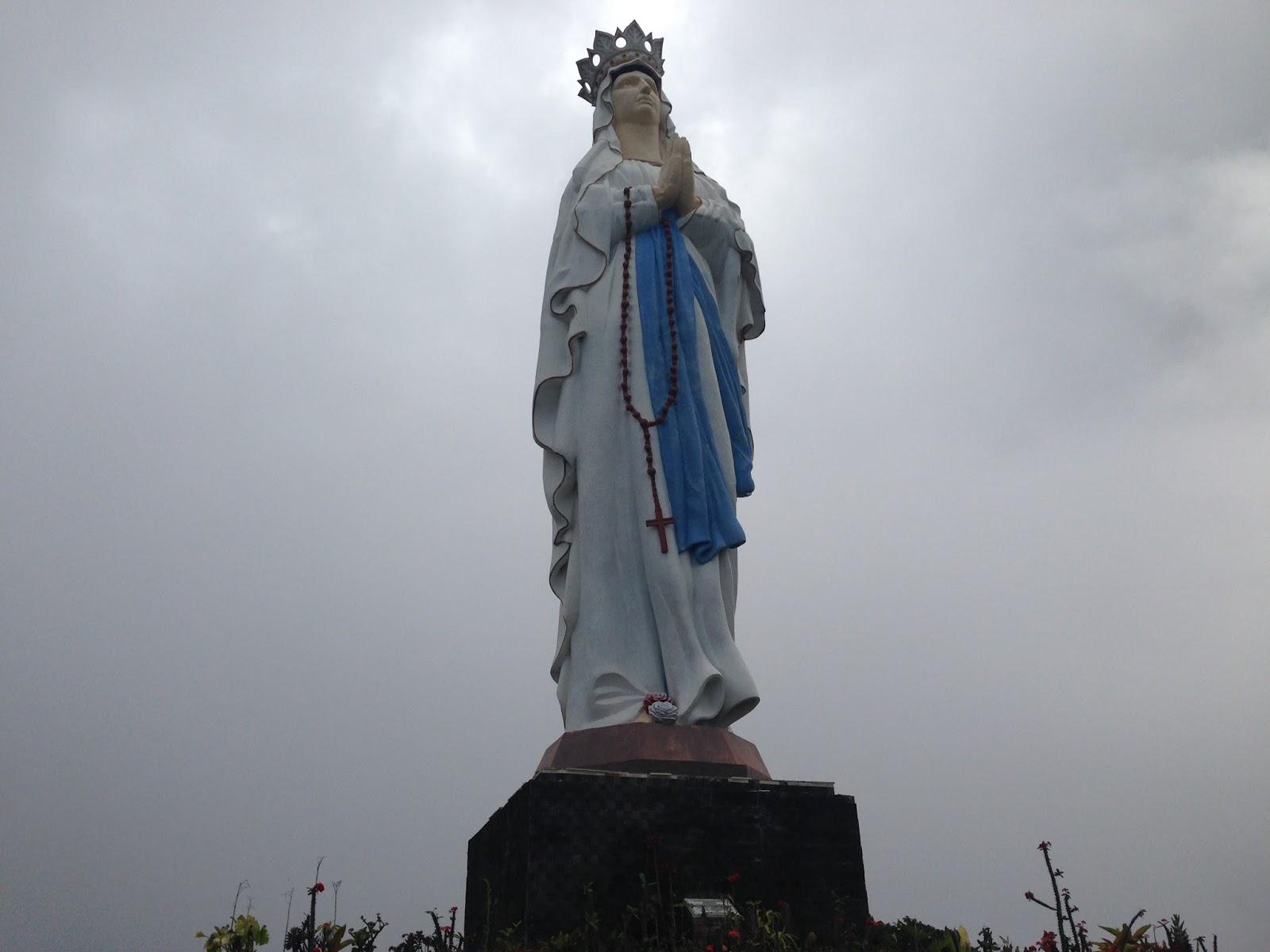 Kub St Theresa Kalkulta Liliba Taman Wisata Rohani Maria Ratu