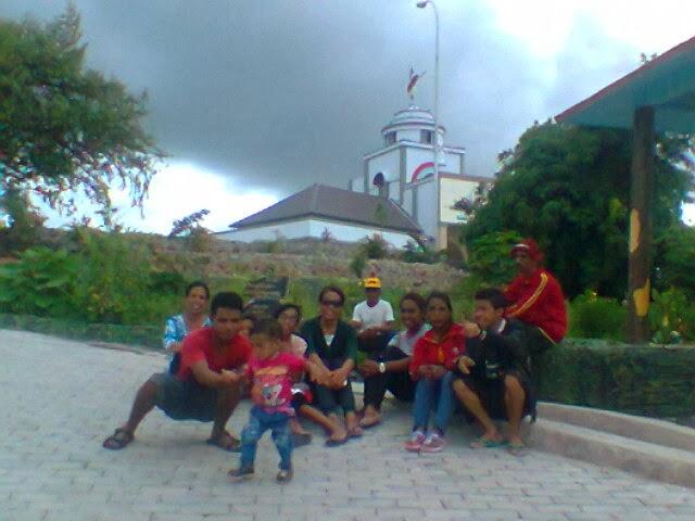 Namfalus Taman Ziarah Oebelo Inspirasi Pembangunan Yesus Maria Uskup Agung