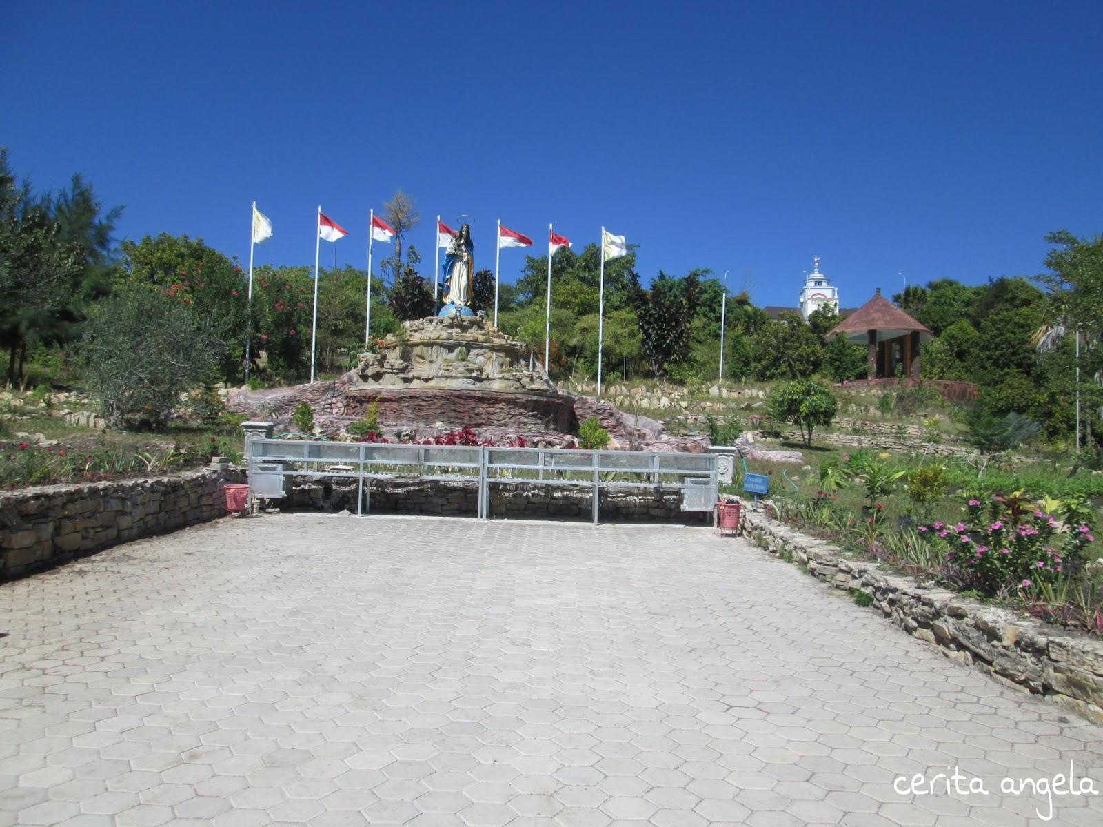 Taman Doa Tanah Gersang Oebelo Kab Kupang