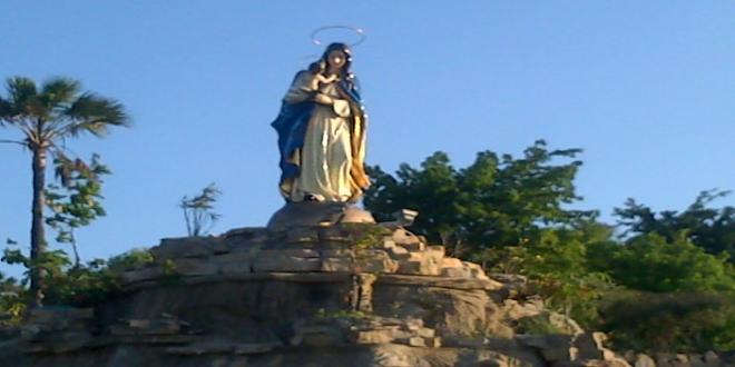 Taman Ziarah Terindah Bernama Yesus Maria Oebelo 2 Patung Bunda