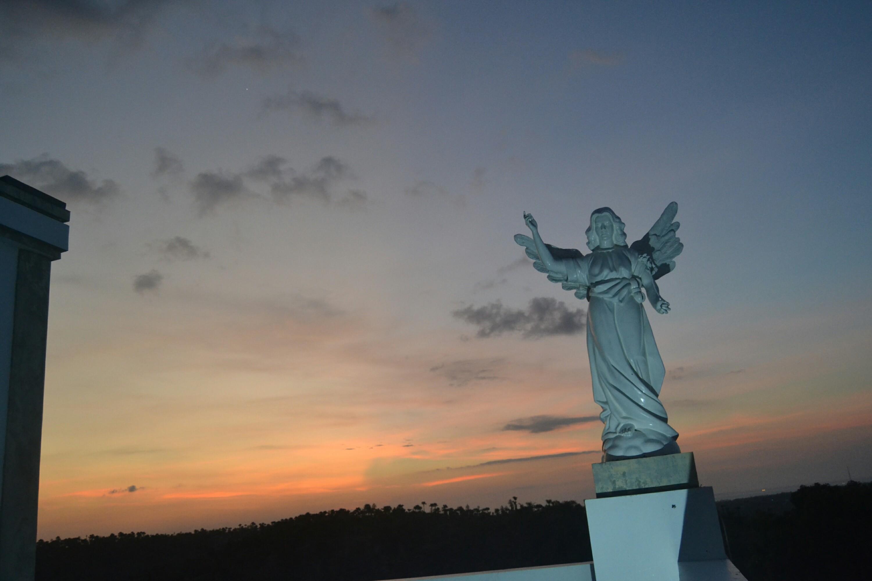 Taman Ziarah Yesus Maria Oebelo Kupang Terletak Sekitar 20 Km