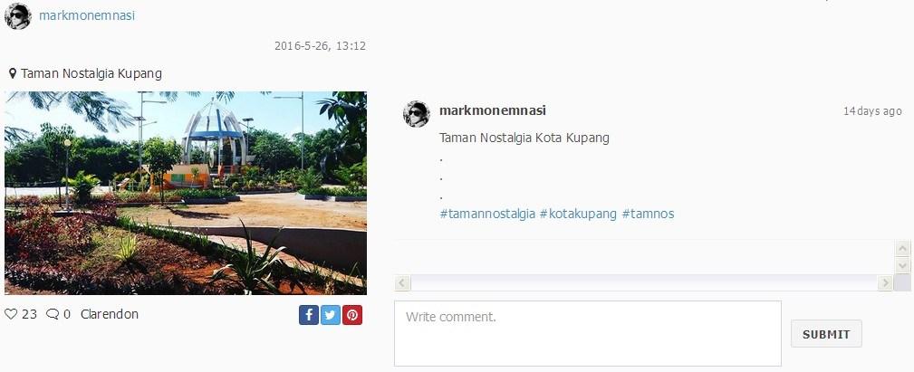 10 Pilihan Tempat Ngabuburit Asyik Indonesia Timur Taman Nostalgia Instagram