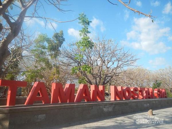 Bernostalgia Sore Hari Taman Nostalgia Kupang Kota Kab
