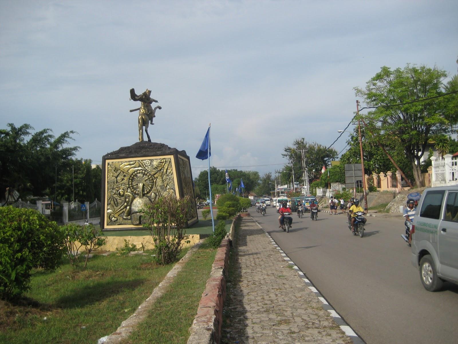 Kota Kupang Riowage Blog Patung Sonbai Taman Nostalgia Kab