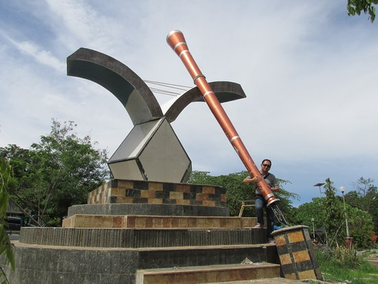 Salome Belakang Taman Nostalgia Picture Park Ta Kupang Indonesia Kab