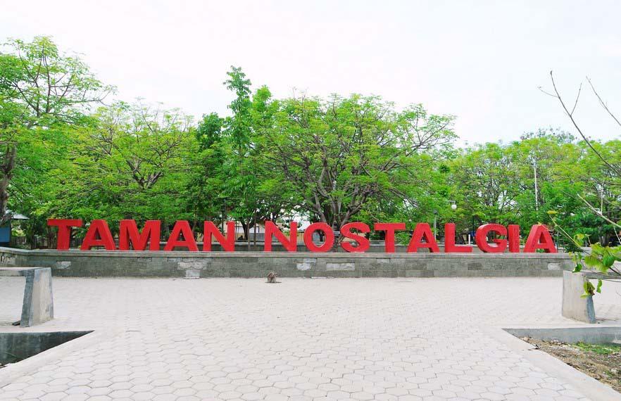 Taman Nostalgia Bernostalgia Kupang Ntt Kamera Budaya Menghabiskan Waktu Disore