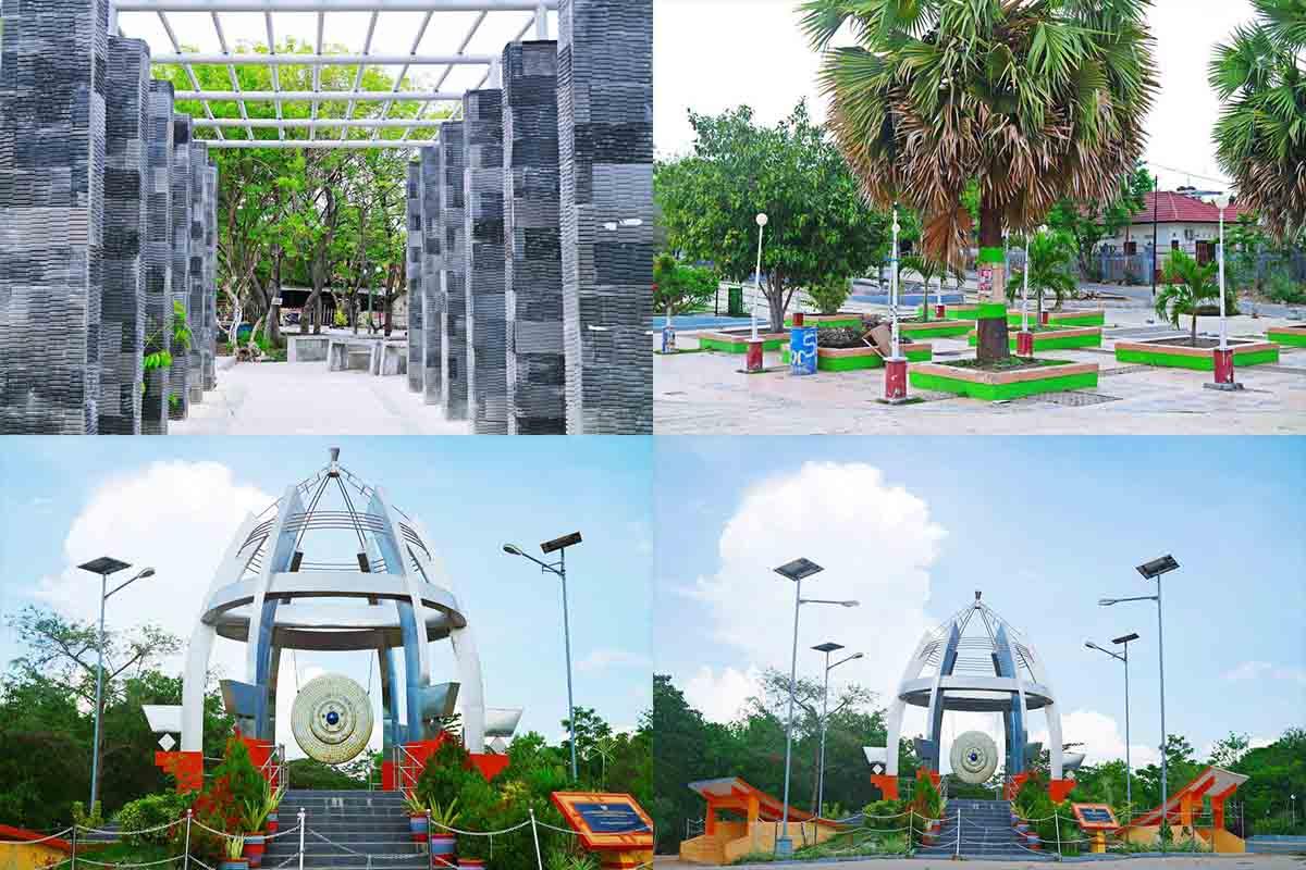 Taman Nostalgia Bernostalgia Kupang Ntt Kamera Budaya Suasana Kab