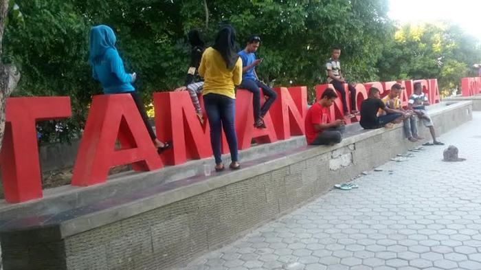 Taman Nostalgia Kota Kupang Asyik Buat Jogging Selfie Wisata Kuliner