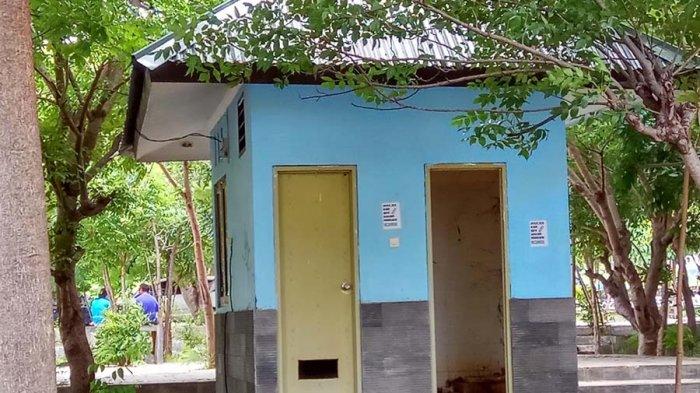Toilet Rusak Taman Nostalgia Kupang Pos Kab