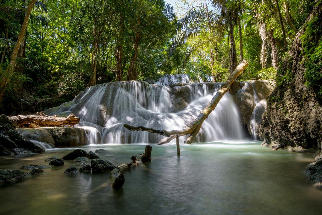 Air Terjun Oenesu Info Pariwisata Kabupaten Kupang Taman Wisata Alam