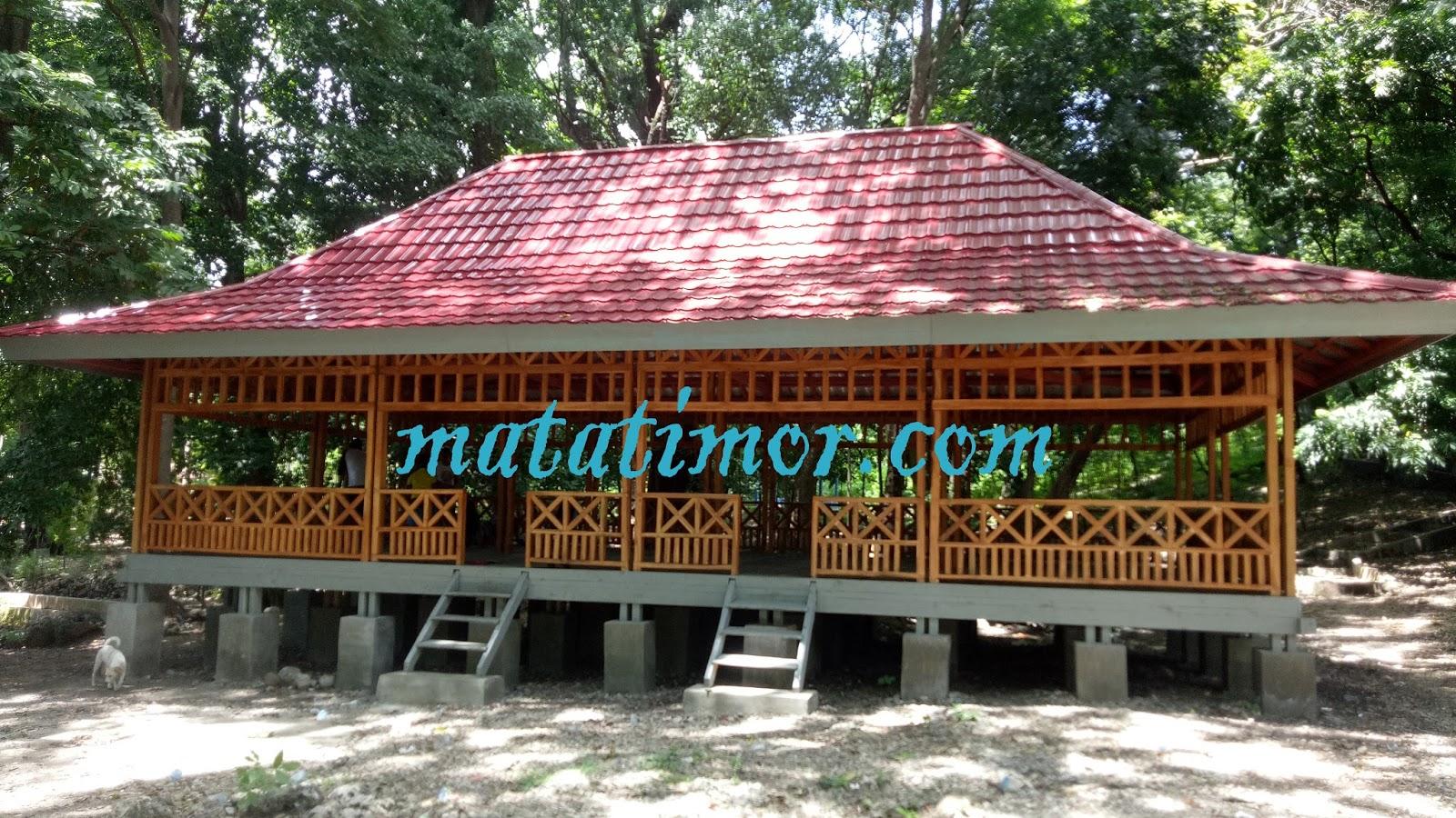 Oenaek Mata Air Wisata Alam Camplong Kian Sekarat Matatimor Rumah