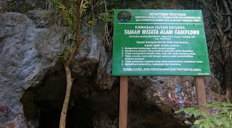 Taman Camplong Sampah Lindungi Wisata Alam Kab Kupang