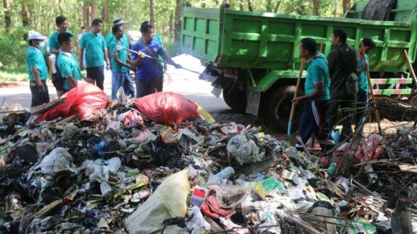 Wisata Alam Camplong Jadi Tempat Pembuangan Sampah Taman Kab Kupang