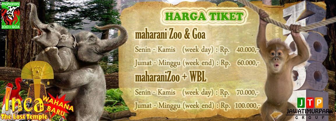Maharani Zoo Goa Kids Holiday Spots Liburan Anak Informasi Price