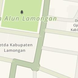Driving Directions Masjid Agung Lamongan Indonesia Kab