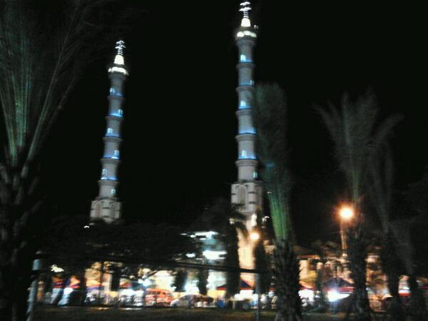 Informasi Lamongan Twitter Tahukah Tinggi Menara Kembar Masjid Agung 53