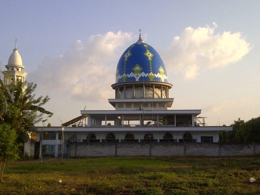 Kubah Masjid Lamongan Jaya Abadi Agung Kab