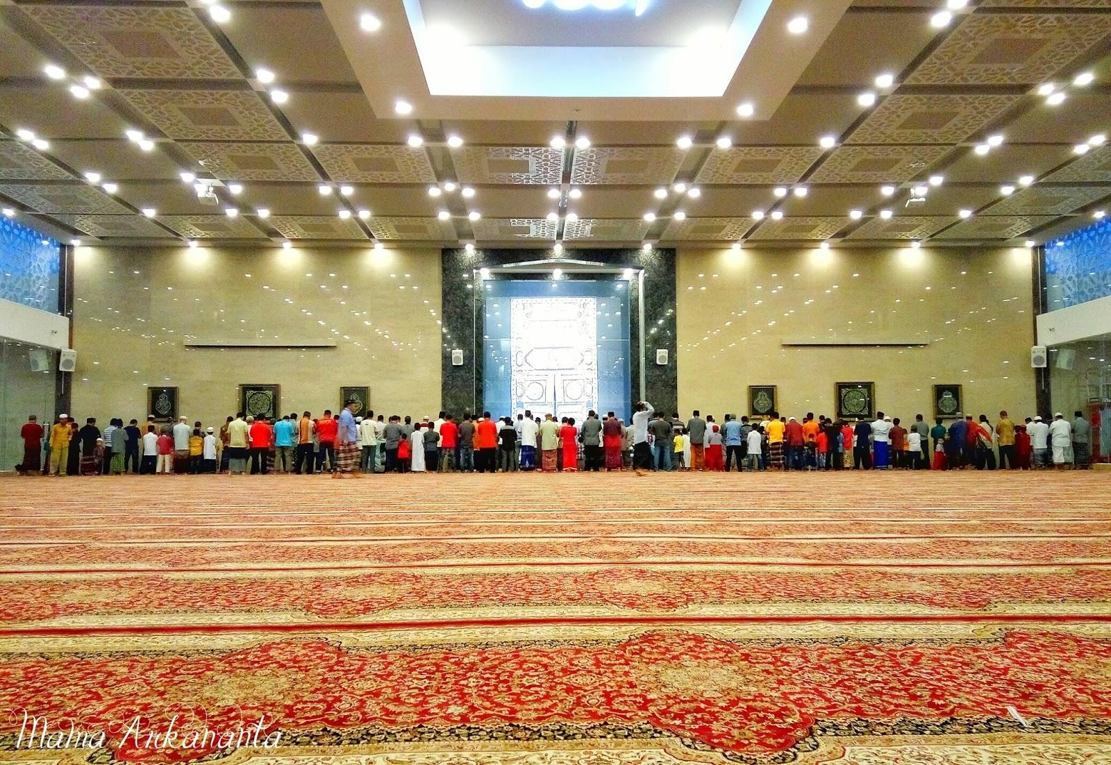 Lokasi Alamat Masjid Namira Lamongan Megah Kokoh Arsitektur Modern Agung