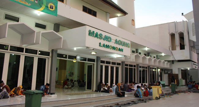 Masjid Jadi Jantung Ekonomi Masyarakat Agung Lamongan Tidak Menjadi Pusat
