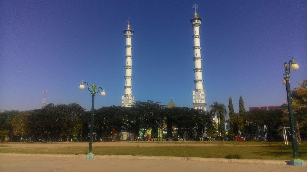 Masjid Jami Lamongan Mapio Net Agung Kab