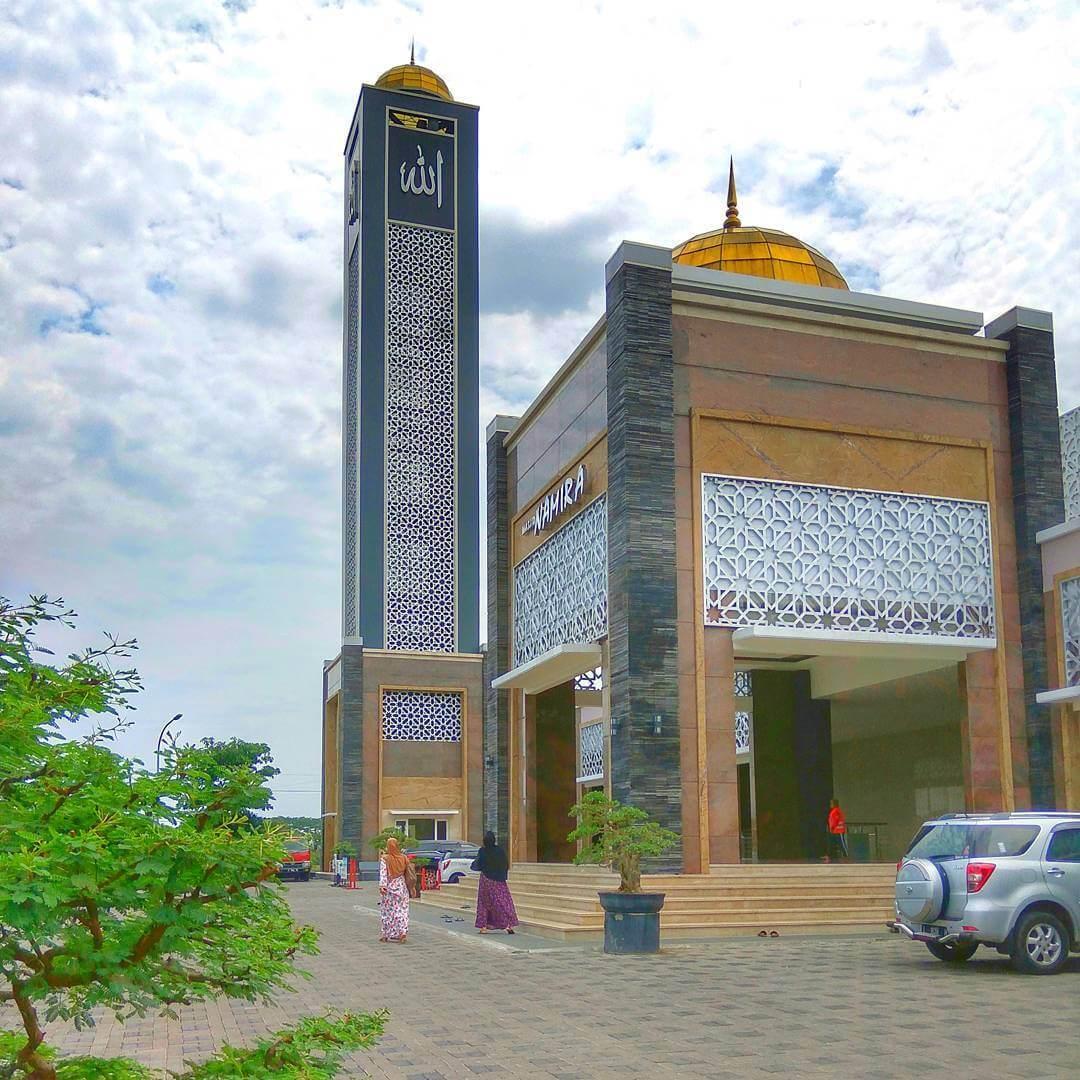 Masjid Namira Lamongan Megah Hits Agung Kab