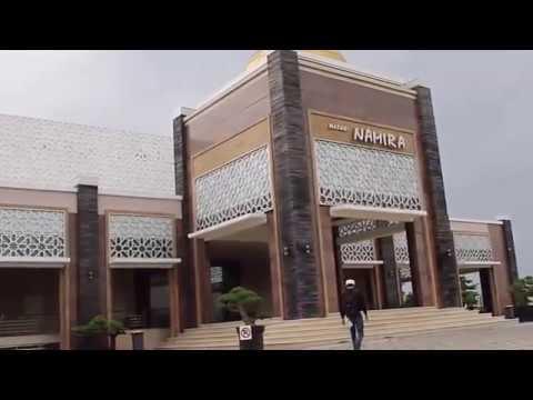 Masjid Namira Megah Kiswah Kain Penutup Kabah Didalamnya Lamongan Joko