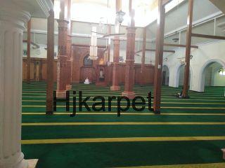 Pemasangan Karpet Masjid Agung Lamongan Jawa Timur Berau Kab