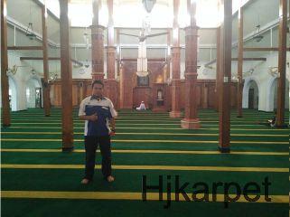 Pemasangan Karpet Masjid Agung Lamongan Jawa Timur Kab