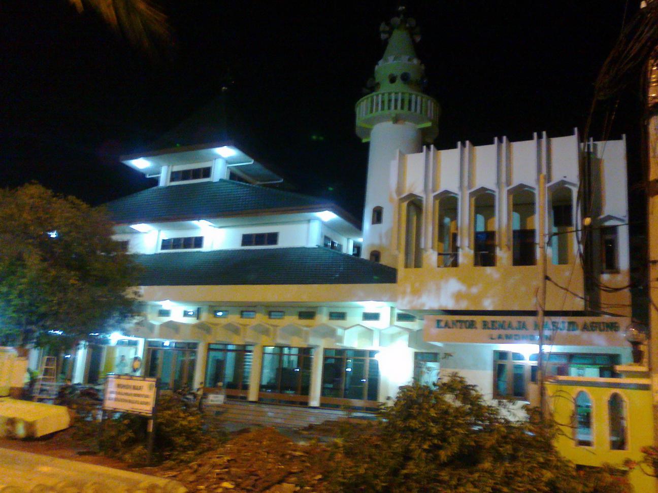 Pengalamanku Bagaimana Denganmu Genthong Dewi Andansari Renovasi Foto Masjid Agung