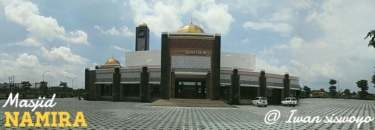 Subhanallah Megahnya Masjid Namira Lamongan Kim Deru Maju Agung Kab