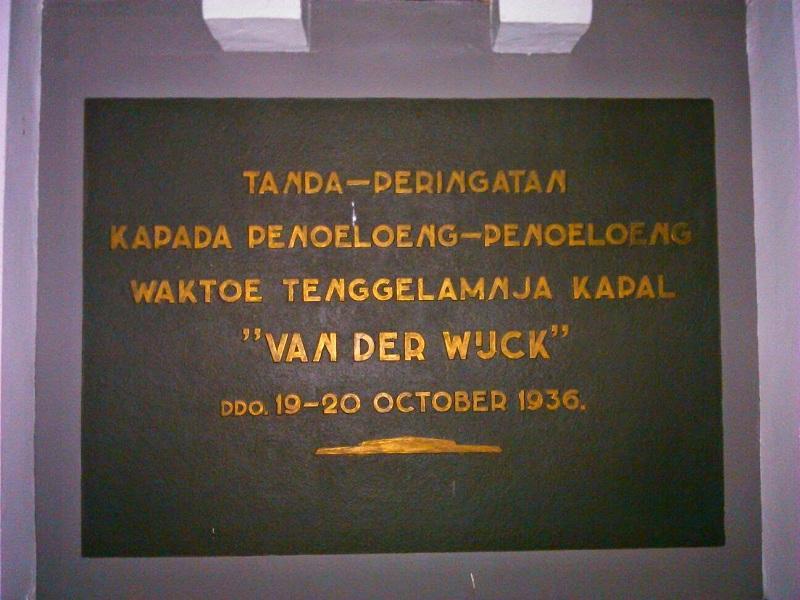 Monumen Jadi Saksi Tenggelamnya Kapal Van Der Wijck Sportourism Id