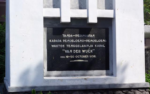 Nasirullah Sitam Tulisan Monumen Van Der Wijck Lamongan Kab