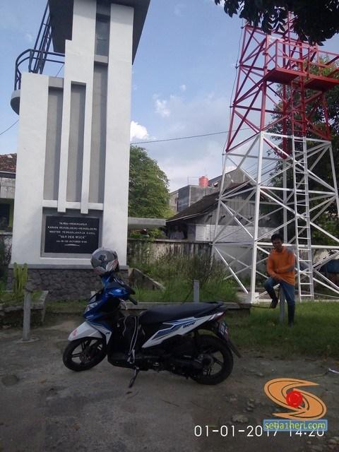 Ngegass Tipis Monumen Van Der Wick Lamongan Sumur Terlihat Tinggi