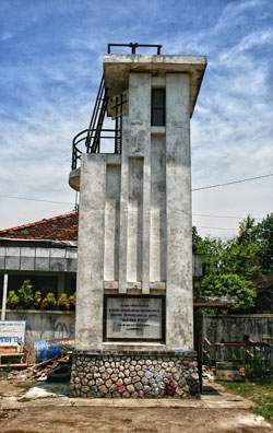 Van Der Wijk Monument Lamongan History Dutch October 20 1936