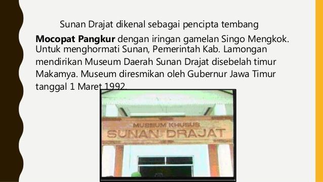 Sejarah Sunan Drajat Museum Kab Lamongan