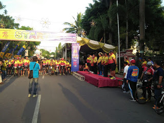 Kadetsuwoko Fun Bike Meriahkan Hut Tni 72 Lamongan Bertempat Alun