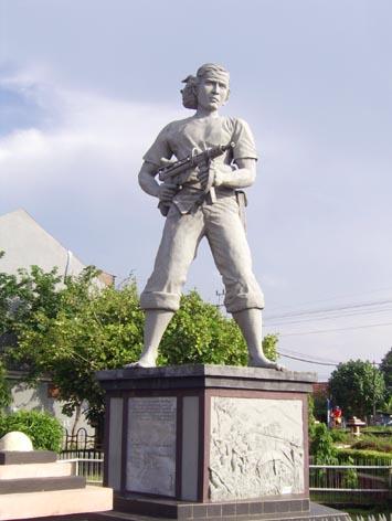 Sejarah Patung Kadet Soewoko Suara Lamongan Salah Satu Pahlawan Kemerdekaan