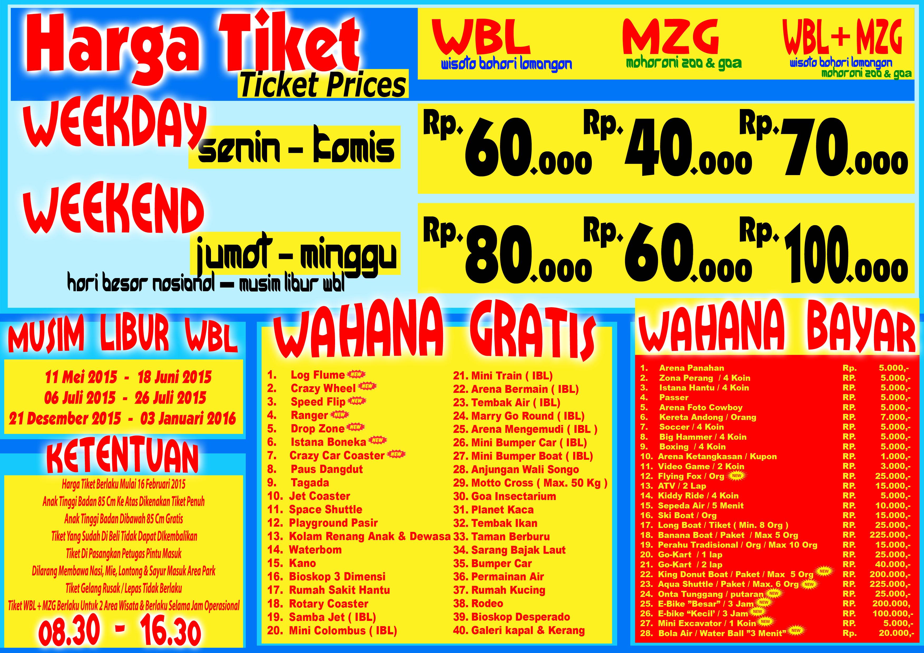 Tiket Masuk Wbl Lamongan 9 - Tour Informasi Dan Tiket Wisata 9