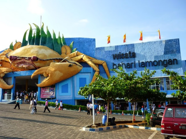 6 Wisata Lamongan Dikunjungi Daily Bahari Disingkat Wbl Berada Kecamatan